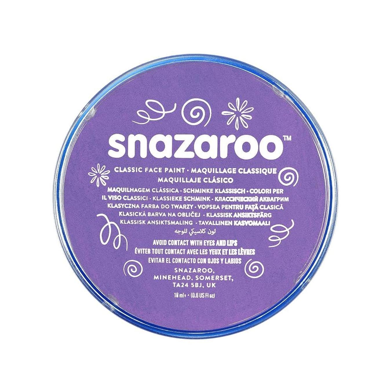 Snazaroo Classic Face Paint, 18ml, Lilac