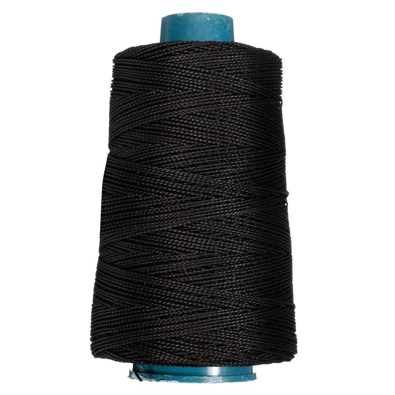 TOOGOO(R) 400m 80lbs Nylon Twisted Bowstring Thread Fishing String Sewing Cord Kite Line, Black