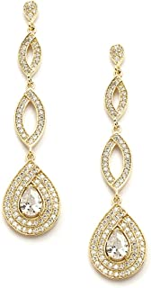 Best gold micro pave earrings Reviews
