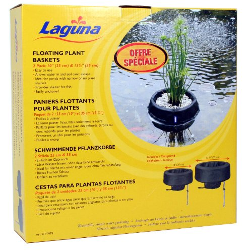 Laguna Woven Fabric Floating Plant Basket Kit