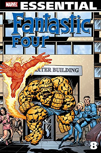 Essential Fantastic Four Volume 8 TPB by John Buscema (Artist), Rich Buckler (Artist), George Perez (Artist), (9-Jun-2010) Paperback