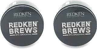 Redken Brew Maneuver Cream Pomade 3.4 oz (Pack of 2)