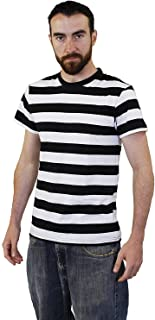 Amazon.es: camiseta rayas negras y blancas: Juguetes y juegos