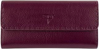 Garbalia – Paris Genuine Leather Wallet – Card Holder – for Women (Damson)