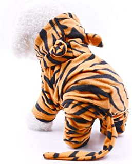 InnoPet Halloween Pet Costume Dog Clothes,Hoodie Coat for Small Dogs and Cats,pet Warm Apparel,Cute Dog Outfits,pet Winter Clothes.