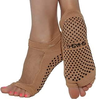 Shashi Mesh Non Slip Open Toe Ergonomic Sock Pilates Barre Ballet Yoga