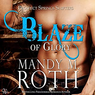 Blaze of Glory audiobook cover art