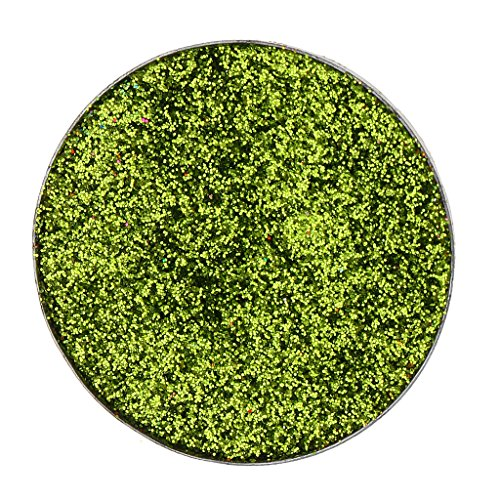 MagiDeal Waterproof Diamant Scintillant Mousseux Ombre de Paupières Palette de Maquillage Paillette Poudre Pressé Fard à Paupières Pigment - Vert