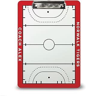 Field Hockey Coach Board | Dry Erase Coach Clipboard by ChalkTalk Sports | Multiple Colors