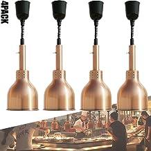 sahadsbv Réchauffeur de Nourriture de Lampe de Chaleur Commerciale, Lampe d'isolation de Chauffage de Buffet de lumière Su...