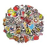 ANKENGS Aufkleber Pack [100-pcs] Graffiti Sticker, Vinyl Stickers, Zufälliger Aufkleber, Vervollkommnen Sie zu Den Laptops, Skateboards Fahrrad, Autos, Kinder, Motorrad, Gepäck, iPhoneund...