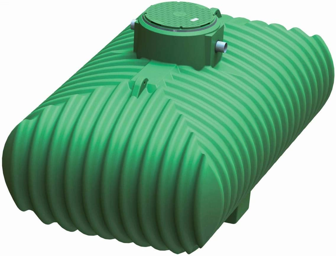 Multitanks - Ecobase cuve de stockage d'eau de pluie basique - 10 000 L