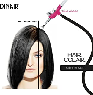 Dinair Airbrush Makeup - Colair - Soft Black - Hair Highlights