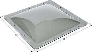 ICON 12121 Single Pane Exterior Skylight SL2222S-Smoke, 22
