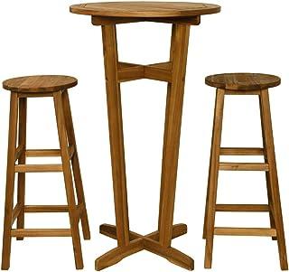 Sgabelli E Tavoli Alti Per Bar.Amazon It Tavoli Bar Alti Arredamento Da Giardino E