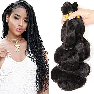 New 2016 Grade 7a Braids Bulk Hair human hair Micro Braiding 3 Bundles Lot 150g 100% Human Hair Crochet Braids Bulk Hair Brazilian Braiding Hair (16