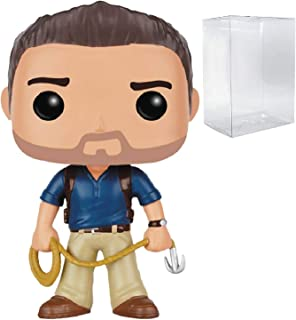 Funko Games: Uncharted - Nathan Drake Pop! Vinyl Figure (Includes Compatible Pop Box Protector Case)