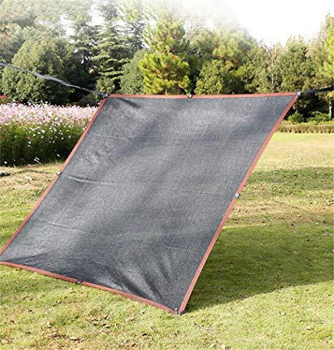 ZJDU 85% Resistente A Los Rayos UV,Paño De Sombra Protector Solar, Encriptado De Diez Pines De Seis Líneas De Envoltura con Ojales,para Planta Cubierta Invernadero Pérgola,10 × 10m