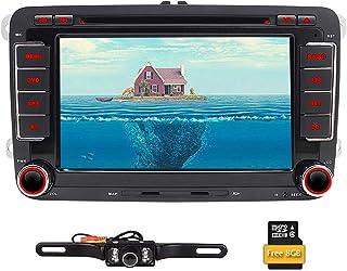 comprar comparacion  Reproductor de DVD, radio estéreo y navegador GPS doble din con pantalla de 7 pulgadas, para coche, pantalla t&aac...