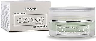 OZONO H&B Crema Idratante Viso Professionale Fitocrema - Olio Ozonizzato - Estratti Naturali - Antibatterica - Antirughe -...