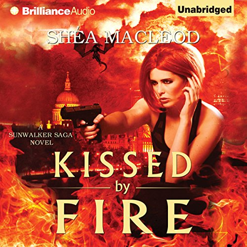 Kissed by Fire audiobook cover art