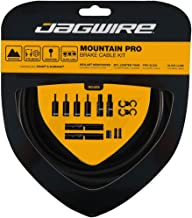 Jagwire Pro Brake Cable Kit Mountain for SRAM/Shimano, Stealth Black