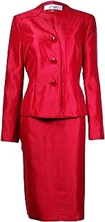 Women's Prague 3-Button Dupioni Skirt Suit