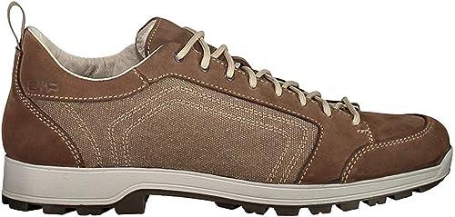 CMP Chaussures de Randonnée Chaussures D'Extérieur Atik Canvas Hiking Chaussures Marron Plaine