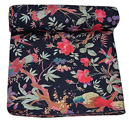 Imprimé floral 100% coton tissu de couture pour la décoration de la maison Décorations d'artisanat mètre Tissu 2,5 mètres mètre de tissu pour la couture de tissus indiens au mètre