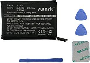 Swark Replacement A1579 Battery Compatible with Apple A1554 42mm (1st Generation) iWatch Smart Watch with Tools