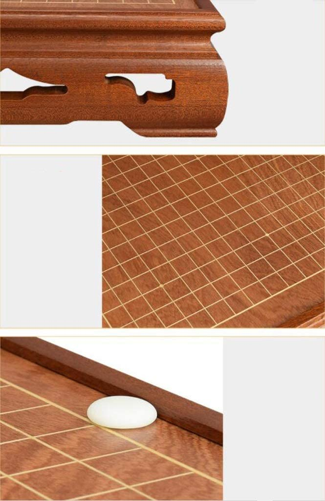 Ding Go Board Set Adult High-end Classic Solid Wood New Yunzi Chess Pieces (Color : C) B