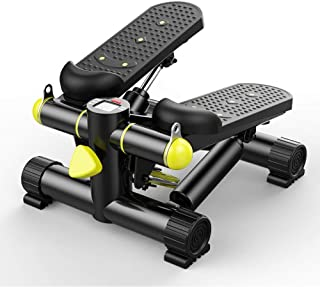 Mini Stepper Gym Exercise Leg,Up-Down Stepper Home Trainer including Resistance Bands, Small and Compact, Home Gym Equipmen