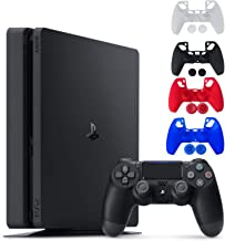 Sony Console Playstation 4-1TB Slim Edition Jet Black - PS4 with 1 DualShock Wireless Controller - Family Holiday Gaming -...