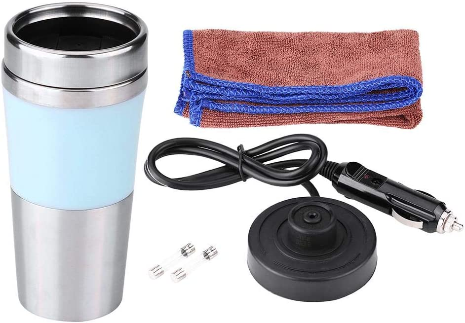 Electric Max wholesale 62% OFF Heating Cup Duokon Stainless Ste Car