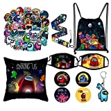 A-mong Game Gift Set - Game Stickers/Drawstring Bag Backpack/Face...