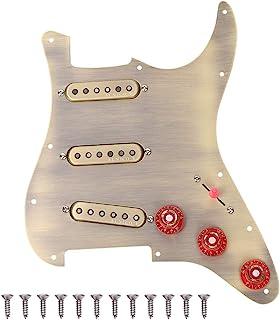SSS Loaded Pickguard 12 Screws 5 Gear Switch Loaded Pickguard for Music Lovers Guitar