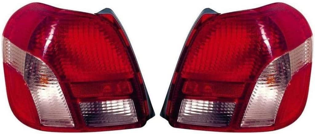 For Toyota Echo Tail 2020モデル Light 安値 Assembly Pair 2002 a 2001 Driver 2000