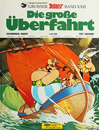 Asterix Band XXII, Die große Überfahrt (1976)