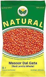 Premium Masoor Dal Whole (Yellow/Orange) 1 Kg