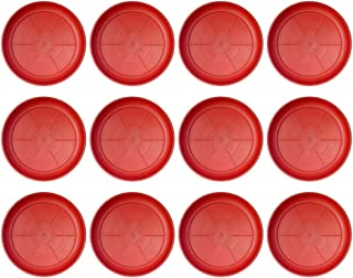 Little Monkey UV Treated Plastic-Tray Plate Saucer Bottom Tray (12 Numbers-Tray 8-inches)