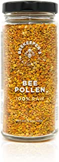 Raw Bee Pollen by Beekeeper Naturals | 100% Raw, Sustainably Sourced Wildflower Bee Pollen | Superfood Loaded with Protein, B-Vitamins, Minerals & Free Forming Amino Acids | Natural Energy