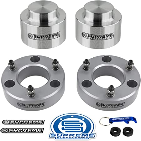 Supreme Suspensions Full Lift Kit for Avalanche Tahoe Suburban Yukon 3.5 Front 3 Rear Suspension Lift Kit 2WD 4WD