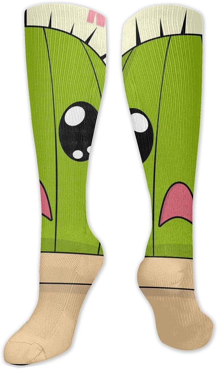 Cute Cactus Knee High Socks Leg Warmer Dresses Long Boot Stockings For Womens Cosplay Daily Wear