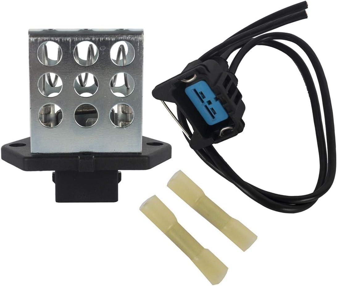 KARPAL Radiator Fan Control Module + F5RZ8L603AC Resistor Harnes High Bargain material