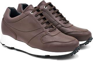 Zapatos de Hombre con Alzas Que Aumentan Altura hasta 7 cm. Fabricados EN Piel. Modelo Lyon.