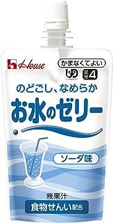 ハウス食品 お水のゼリー ソーダ味 120g×8個