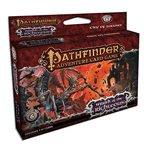 Paizo Publishing PAI06026 - Pathfinder - Wrath of The Righteous City of Locusts, Kartenspiel