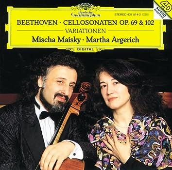 Beethoven: Cello Sonatas Op.69 & 102; Variations
