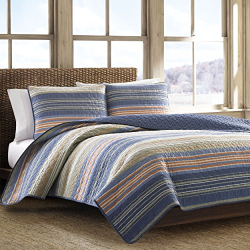 Eddie Bauer Yakima Valley Quilt Set, Full, Green