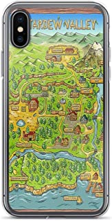 iPhone 7 Plus/8 Plus Pure Clear Case Cases Cover Stardew Valley Map